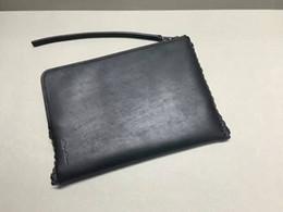Wholesale Crochet Mobile - hip-hop style RO genuine leather series leather Weave wallet tide mobile phone key handbag
