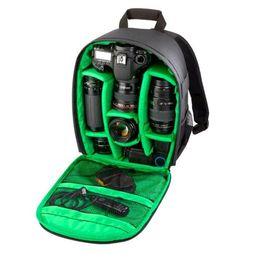 Wholesale Waterproof Case For Digital Camera - Professional Waterproof DSLR Camera Lens Backpack Case Bag Photography Digital Camera Video Backpack For Nikon Canon Sony
