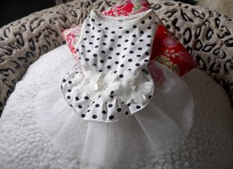 Wholesale Dog Veil Dress - Fashion Pets Clothes Puppy Teddy Summer Dogs wedding veil Small Cats Clothing