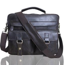 Wholesale Crazy Horse Cross Body Bag - Leather man bag, crazy horse skin single shoulder bag, men's handbag, cross-body bag. Material: the first layer of cowhide,