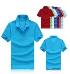Wholesale Free Business Shirts - 2018 summer brand mens solid polo shirt tomy New men casual shirt, men's T-shirt leisure business short sleeve shirts 5 6xl