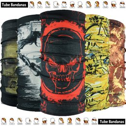 Wholesale Geared Head - Various Optional Design Latest Fashion Magic Neck Scarf Outdoor Cycling Bandana Tubular Head gear Multifunctional Headwear