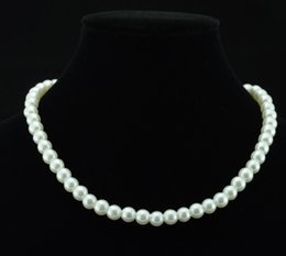 Wholesale Necklace Brides - Fashion Wedding Bride Jewelry Pearls Luxury Cheap Bride Accessory Wedding Party Wear In Stock Lobster Clasp