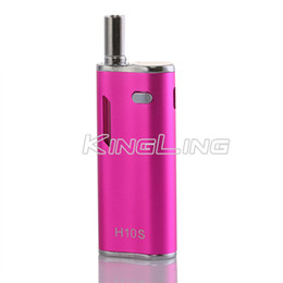 Wholesale Pre heating hibron h10s mAh box mod with led screen ml tank vaporizer mah Battery Mystica VV Mini Box Mods
