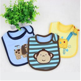 Wholesale Cheap Baby Girl Waterproofs - New baby Cloths Feeding baby clothes baby towels cottonBaby Accessories boys girls Waterproof bib Cheap z