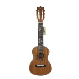 "Wholesale Guitar Ebony Board - Wholesale- 28"" Kasch MGH-26 Sapele Guitar Ukulele Concert Wood Instrument Mini Handcrafted + Chord + Bag Rose Wood Finger board"