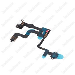 Wholesale Iphone 4s Ribbon Cable - High Quality Proximity Light Sensor Power Button Flex Cable Ribbon for iPhone 4 4G 4S 4GS