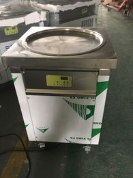 Wholesale Real Roll - ETL UL NSF REAL certification smart Thai fried ice cream roll machine single 50 cm pan 110v 220v