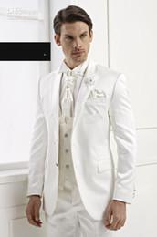 giacca araba Sconti Su misura su misura del vestito da sposa del vestito da sposa dello sposo dello sposo di disegno di 2014 (su ordine del Giappone) Giappone (Giacca + Pantaloni + Cravatta + Vest)