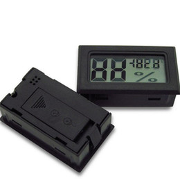 Wholesale Humidity Sensor Thermometer Hygrometer - Black FY11 FY-11 Mini Digital LCD Indoor Convenient Temperature Sensor Humidity Meter Thermometer Hygrometer Gauge TMP-10-1