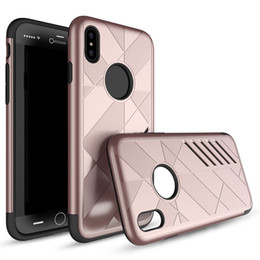 Wholesale Customize Opp Bag - Caseology Case Hybrid Rugged TPU PC Cover For iphone X 8 7 6 Plus Samsung Galaxy Note 8 S8 S8PLUS Opp Bag