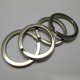 Wholesale Cheap Rings For Sale - DHL Free Shipping Cheap Stainless Steel Metal Split Ring Hot Sale Various Sizes Split Keyrings For Wholesale