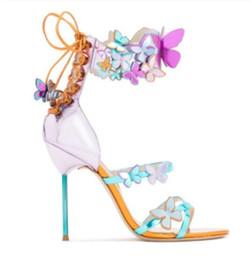 Canada 2017 femmes sexy fleur haut talon orteil ouvert sandale gladiateur sandales chaussures de mariage flore parti chaussure talon aiguille cheap eva heels Offre