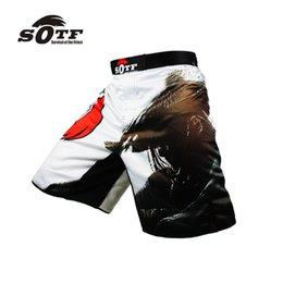 Wholesale Men Exercise Clothes - New Boxing Breathable Fitness Integrated Fight Exercise Boxing Shorts Pretorian Shorts Tiger Muay Thai Clothing Man Pants