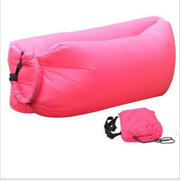 konvexes kissen Rabatt Schnelle Aufblasbare Camping Sofa Tragbare Outdoor Wasserdichte nylon Sofas Strand air Chair lounge Couch Faul Bett Wandern Schlafsack