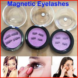 Wholesale Dhl Free Shipping False Eyelashes - New Magnetic Eye Lashes 3D Mink Reusable False Magnet Eyelashes Extension 3d eyelash extensions magnetic eyelashes makeup DHL Free shipping