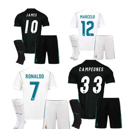 Wholesale Red Bells - The 2018 fan edition away jersey, the real Madrid football jersey 17 18 CR7 football jersey, the ronaldo bell football shirt Asensio sergio