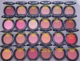 Wholesale Blush Mirror - free shipping! Hot New make up Shimmer Blush 6g 24 color No mirrors no brush Brand makeup.