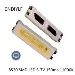 Wholesale Mail Light - Wholesale- Original LG 8520 SMD LED 6-7V 150ma 11000K 120 Dgree Special Of TV Back Light Fast Delivery Via China Post Registered Air Mail