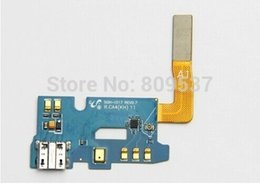 Wholesale Note I317 - Genuine Charging Dock Port Connector Flex Cable Ribbon For Galaxy Note 2 II AT&T i317 10pcs lot