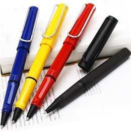 Wholesale Best Art Supplies - luxury pen Best Design Lamy Safari Colorful For choice Roller ball Pen office supplies writing pens for gifts without paper box