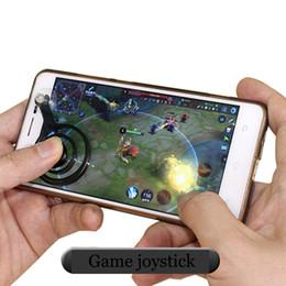 2019 android joystick bildschirm Heißer neuerer beweglicher Joystick-Android-ios Handy gamepad Joystick-Touch Screen Spiel Joypad Doppelstock Steuerknüppel für Smartphone günstig android joystick bildschirm