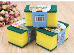 Wholesale Quality Pad - Kitchen Cleaning Sponge Pads High Quality Soft Scouring Pads Dish washing Householde Cleaning Items