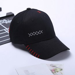 Wholesale Types Hats Caps - Color type optional Summer hot baseball cap Korean hat outdoor sports shade male and female can be used as shown free shipping