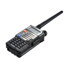 Wholesale Uhf Portable Transceiver - BAOFENG UV-5RE Walk Talk Ham Cb Radio Vhf Uhf Two Way Radio Transceiver Talkie Walkie Baofeng Walkie Talkie 10 km Portable Radio