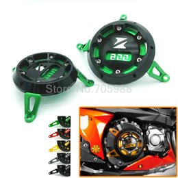 Wholesale Motorcycle Protective Cover - Super quality Multi-color Motorcycle CNC Aluminum Engine Stator Cover Cap Engine Protective Cover For KAWASAKI Z800 2013-2015
