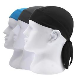 Wholesale Cycling Helmet For Women - Quick Dry Sweat Wicking Beanie Cap Adjustable Cycling Cap Hat Skull Cap Chemo Head Wrap Bandana For Men Women Helmet Liner