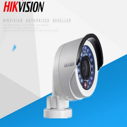 Wholesale Hd Ds - Original DS-2CD2042WD-I Full HD 4MP High Resoultion 120db WDR POE IR IP Bullet Network CCTV Camera English Version