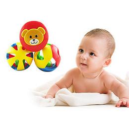 Wholesale New Boy Baby Bedding - Wholesale- 3pcs Kids Toys Children Boy Girls Gifts New Grasp Handbell Musical Developmental Ball Bed Bell Kids Baby Toy Rattle Gift