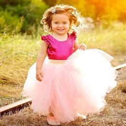 Wholesale Yellow Ballet Skirt Kids - Infant Baby Girls Tutu Skirt Ankle Length Kid Children Summer Princess Tulle Pettiskirts For Ballet Dance Party Dress Kids Dancing Skirt