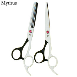 Wholesale Hairdressing Scissors Titanium - High Level VG10 Stainless Steel Hair Scissors,Ceramic Titanium Coated Cutting Scissors ,Professional Cutting Thinning Hairdressing Scissors