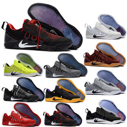 Wholesale Sports Snow Boots - Top quality Athletic shoes KB AD Bryant Kobe Basketball Shoes Men #30 basketball shoes Athletic Sport with box Size 40-46