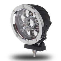 Привод огни онлайн-Светодиодный рабочий свет 9LED 45W CREE 5W Spot Flood Beam Lights Round Headlight ATV Автомобильный тягач Caravan LED Lights 12V