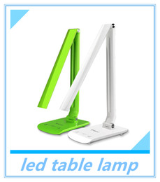 Wholesale desk work light - led table lamp book light for reading office desk lamps study led book lamp for work allochroic natural light touch lamp