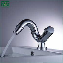 Wholesale FLG Special Style Basin Faucet Fashion Bathroom Faucet Tap Personality Faucet Mixer Cold and Hot Water Mixer Single Handle Tap
