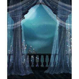 2019 foto szenischen hintergrund hintergrund Fantasy Fairyland Foto Studio Hintergrund Vinyl Vorhang Hochzeit Kinder Fotografie Kulissen Midnight Mountain Scenic Fotografischen Hintergrund günstig foto szenischen hintergrund hintergrund