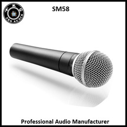 Wholesale Microphone Professional - 2017 Clear Sound Handheld professional audio manufacturer stage karaoke sm58LC wired microphone professional wired mic