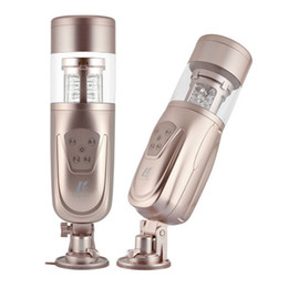 Wholesale New Men Sex - New Easy Love Telescopic Lover 2 Automatic Sex Machine, Rotating and Retractable Electric Male Masturbators, Sex Toys for Men