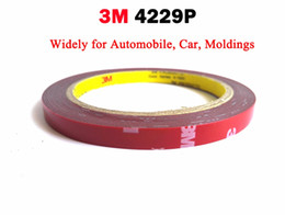 Wholesale Double Sided Body Tape - Wholesale- 2016 VHB Double Sided Adhesive Acrylic Foam Tape 4229P, Special for Automobile Card body side Moldings,ABS and PVC etc. 3meters