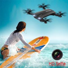 Wholesale Mini Foldable - JJRC H37 Foldable Drone With Camera Pocket Fpv Quadcopter RC Drones Phone Control Wifi Mini Drone Elfie Selfie Drone