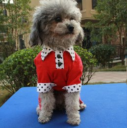Wholesale Korean Clothes Fashion Free Shipping - 1 Piece Cool Pet Dog and cat clothing harness sweater fashion Korean style four-legged sweater Free shipping Wholesale 4-2612