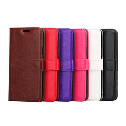 Wholesale Iphone Cases Purse Style - PU leather wallet Flip Case For iphone 8 7 6 6S Plus 5 5S SE Purse Style Phone Cover with Photo Card Slots