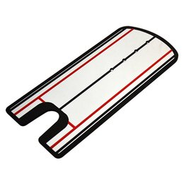 Wholesale Trainer Alignment - Wholesale- Golf Tool Equipment Putting Mirror Training Eyeline Alignment Practice Trainer Aid Portable