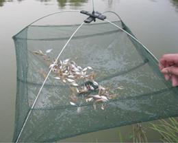 Canada q0205 60 * 60cm filets de pêche pliable appâts piège Cast Cast Dip Net crabe crevette senteur anguille crabe homard langouste crevette langouste Offre