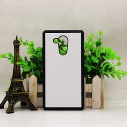 Wholesale Huawei Phone Housing - 2D Hard TPU Sublimation Phone Cases for Huawei MATE8 Huawei P9 with Blank Metal Insert DIY Design Back Covers Housing