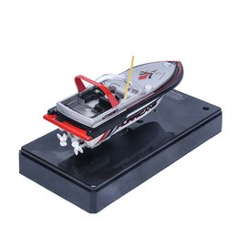 Wholesale Speedo Wholesaler - Wholesale- HIINST Best Seller Drop ship Speedo Mini Remote Controlled RC Speed Boat NEW S40 Ag14 Gift